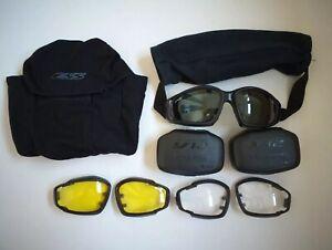 Genuine British Army ESS V12 Advancer Ballistic Tactical / Assault Goggles