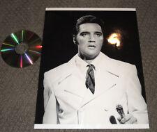 "ELVIS Presley~11x14 Jumbo MASTER PHOTO-'68 Comeback~""Straight Up"" book cover"