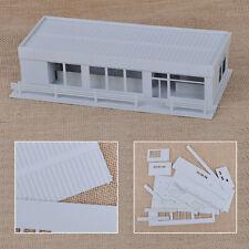 1:87 HO Scale Train Models Modern City Roadside Convenience Store Shop House Hot