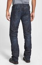 NWT DIESEL SAFADO 0U801 Mens Jeans (W 36 X L 34) Regular Slim Straight Dark Wash