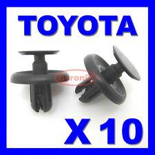 Toyota Passaruota Rivestimento Interno Splashguard Motore Sotto Vassoio Tagliare Clip Cover