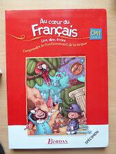 Au coeur du Francais CM1 Cycle 3 Livre du maitre Jacky Crepin Marylene Dupont