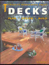 Decks Book Creative Homeowner Press Plan Design Build Frames Rails Steps Tables