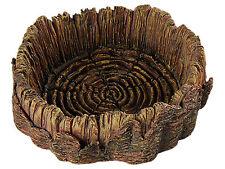 13 cm Reptile Nourriture Bol Feeding Dish Vivarium Décoration Log Feeder FP27668