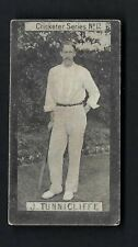 More details for clarke - cricketer series - #12 j tunnicliffe, yorkshire