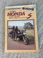 CLYMER HONDA MOTORCYCLE GL1200 SERVICE REPAIR MAINTENANCE MANUAL 1984-1985
