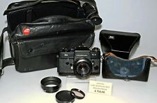 LEICAFLEX SL 2 Black Summicron-R 50/2 fodero e borsa