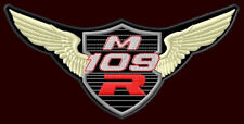 "SUZUKI M109 R BOULEVARD EMBROIDERED PATCH ~6""x 3"" MOTORCYCLE  CUSTOM BIKE WINGS"
