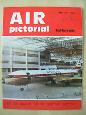 AIR PICTORIAL MAGAZINE MAY 1971 STERLING AIRWAYS SUD CARAVELLE