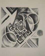 Robert DELAUNAY - lithographie originale - Paris, vue aérienne de la Tour