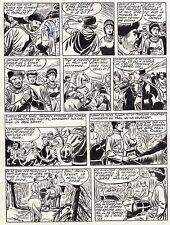 FULGOR (BILD) SUPERBE  PLANCHE ORIGINALE ARTIMA  ANNEES 1950 PAGE 10