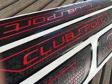 Golf IV V VI 4 5 6 7 GTI Clubsport 4 Türen Waben Folien Einstiegsleisten