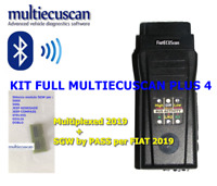 MULTIECUSCAN KIT PLUS 4 multplexed Cantiecar FIAT ALFA LANCIA 2019 SGW obd2