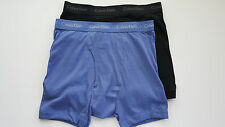 Calvin Klein Boxer Briefs - Medium - Black - Blue -  2 Briefs