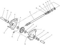 Toro Auger Gear Power Shift Power Max 62-0120 Neuf Original Equipment Manufacturer Toro Souffleuse Gear