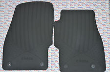 GENUINE Vauxhall CORSA D & E - RUBBER CAR FLOOR / CARPET MATS - FULL SET - NEW