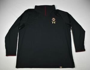Boston College Eagles Under Armour Pullover Men's Black Poly NEW 3XL