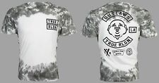 True Religion Mens S/S T-Shirt OUTLAWS Buddha GREY TIE DYE Jeans S-3XL $89