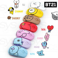 BTS BT21 Official Authentic Goods Wireless Silent Mouse 7Characters By Royche