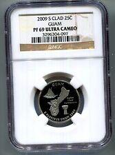 2009-S Guam Quarter *NGC* PF69 Ultra Cameo