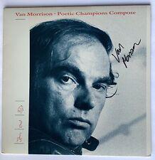 Van Morrison signed album poetic champions compose lp beckett loa