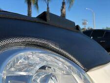 Car Bonnet Hood Bra in CARBON STYLE Fits FIAT 500 500e 500c POP Abarth 07 - 19