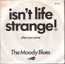 "THE MOODY BLUES 7""PS Spain 1972 Isn't life strange"