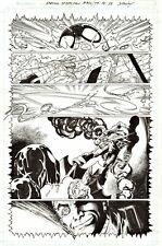 MARK BAGLEY 2020 SPIDER-MAN, GREEN GOBLIN ORIGINAL ART!