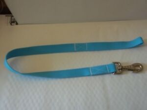"""Dog Lead - 78cm (31"""") Baby Blue - with Trigger Hook - Equestrian Strength"""
