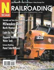 N Scale Railroading #23 2004 Milwaukee Road Pennsy Passenger Cement Hoppers SP