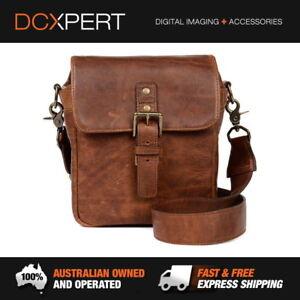 ONA Bond Street Italian Leather Camera Bag - Antique Cognac (ONA5-064LBR)