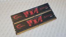 G.Skill Aegis 16GB (2x8GB) DDR4 3000 MHz (PC4-24000) Memory RAM