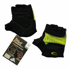 "Womens Small Cycling Spinning Gloves Gel Padded Anti Slip Fingerless MTB S 7.5"""
