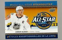 CONNOR MCDAVID  2018-19 TIM HORTONS  ALL STAR #AS1  MRMT