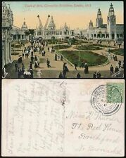 GB 1911 CORONATION EXHIBITION PPC...SPECIAL POSTMARK AUG 12th