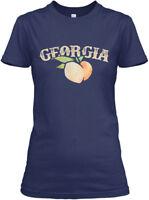 Georgia Peach Peachy Peaches - Gildan Women's Tee T-Shirt