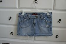River Island Denim Mini Skirt Size 8