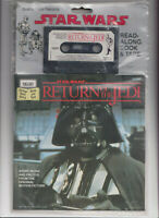 Star Wars Return of the Jedi Read-Along Book and Tape SEALED 1983 Darth Vader