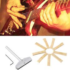 Guitar Fingerboard Fret Press Caul With 9 Sizes Brass Guitar Fret Press Insert