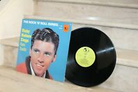 Lp 33 t / Ricky Nelson - rare tracks (the rock'n'roll series)  4086 mono