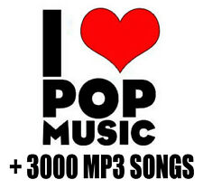 Greatest Hits I LOVE POP MUSIC Over 3000 MP3 Songs Pop Ballads Oldies 70S 80S 90