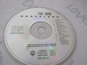 Paul Simon.Graceland. CD - No Cover