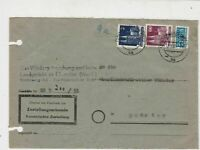 German 1951 MunsterW Cancel Obligatory Tax Aid for Berlin Stamps Cover Ref 26795