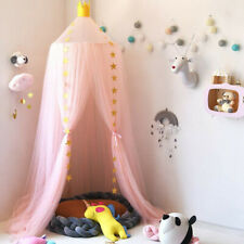 240*50Cm Princess Bed Canopy Tent Mosquito Net Round Dome Kids Play Room Decor