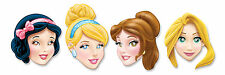 4 x Disney Princess Birthday Party Face Masks Loot Favor Favour Bag Fillers