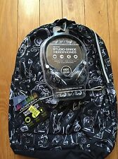F.A.B. Starpoint Tech Ready Backpack Nwt *Includes On Ear Headphones