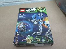 LEGO STAR WARS 75002 AT-RT YODA 501 CLONE TROOPER & DROID CAPTAIN Boxed & 100%