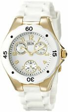 Invicta Women's Angel Chronograph Stainless Steel White Silicone Watch 18796