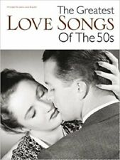 27 of The Greatest Love Songs Of The 50s Piano Sheet Music Brand New PVG