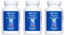 3x Allergy Research Group Thyroid Natural Glandular 100 vcaps (3 bottles)